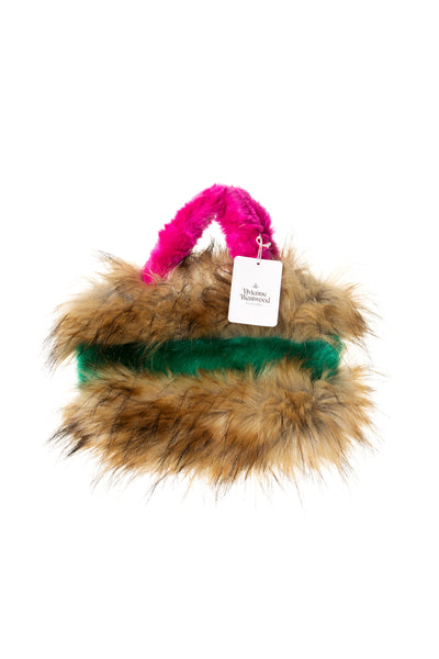 Mini Faux Fur Bag