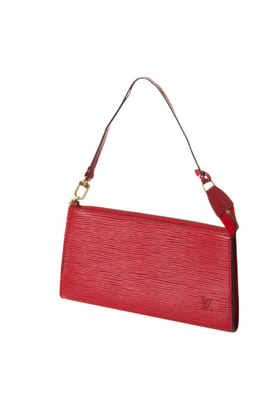 Louis Vuitton Red Epi Pochette - irvrsbl