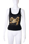 Dolce and GabbanaSequin Tank Top- irvrsbl