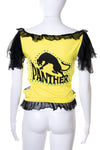 Sheer Panther Top