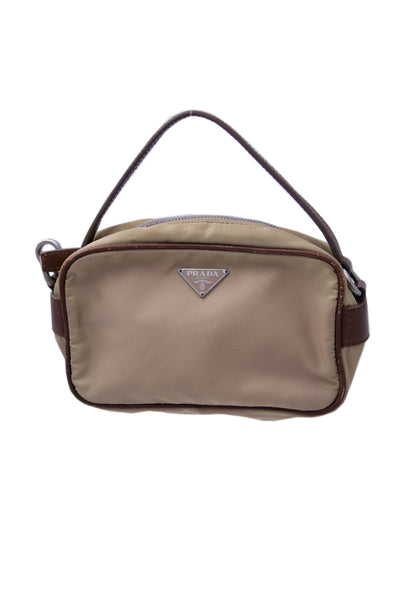 Prada Mini Nylon Handbag - irvrsbl