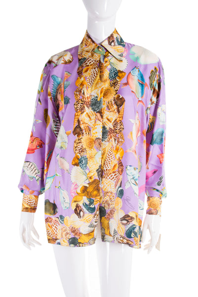 Silk Shirt as worn by Christy Turlington