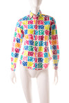 Pop Art Printed Shirt