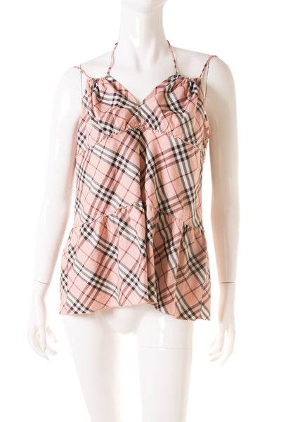 BurberryNova Check Top- irvrsbl