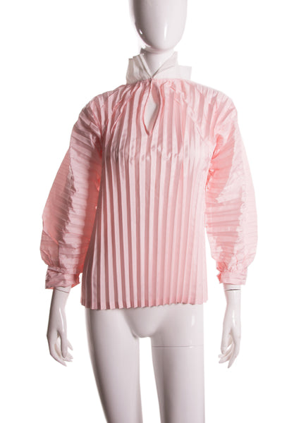 Comme Des GarconsPleated Top- irvrsbl