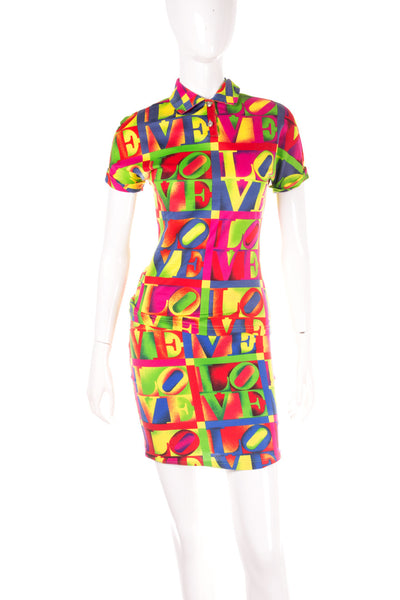 Robert Indiana Top and Skirt Set