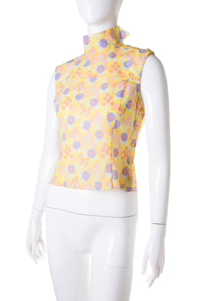 Chanel 03S Floral Printed Top - irvrsbl