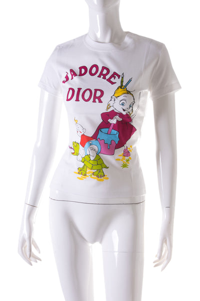 J'Adore Dior Cartoon Tshirt