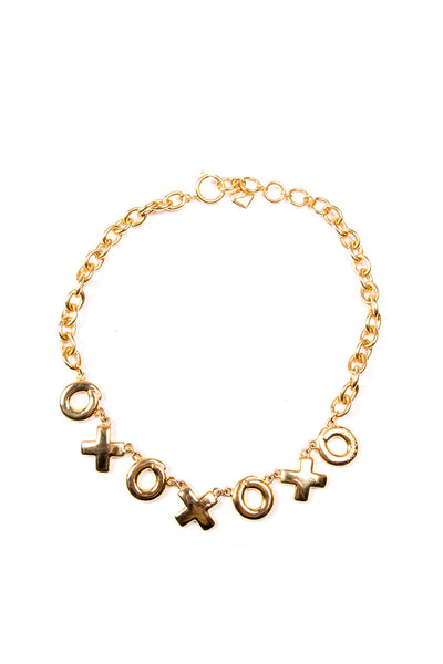 MoschinoXO Necklace- irvrsbl
