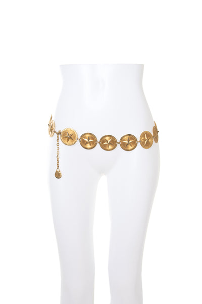 Gold Toned Chain Belt