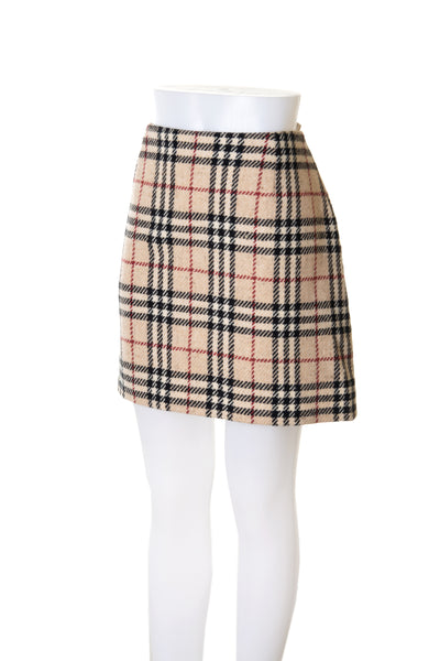 Burberry Nova Check Skirt - irvrsbl