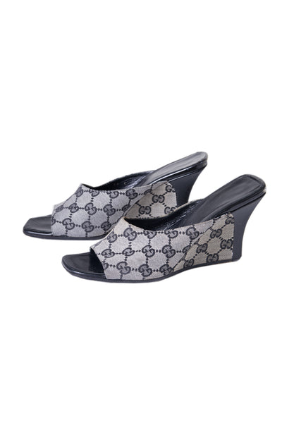 GucciMonogram Wedges- irvrsbl