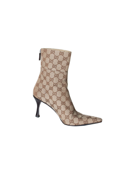 Monogram Ankle Boot