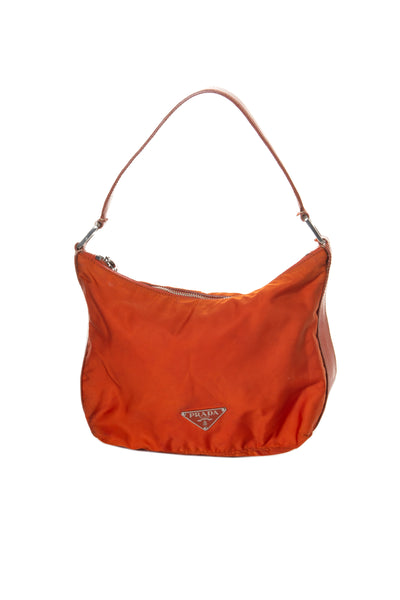 Orange Tessuto Bag