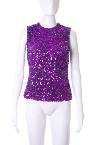 Dolce and GabbanaSequin Top- irvrsbl