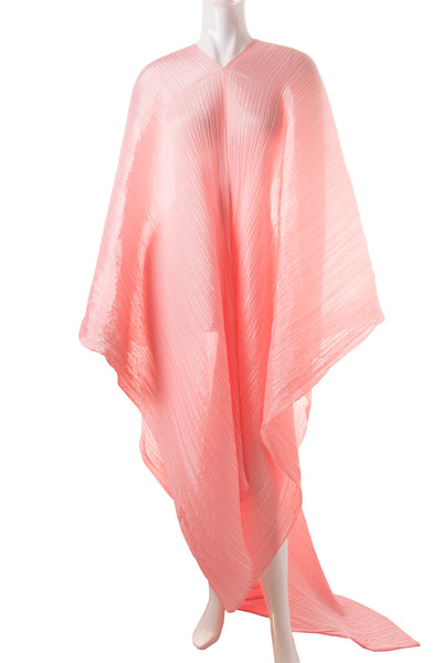 Issey MiyakePleats Please Floor Length Caftan- irvrsbl