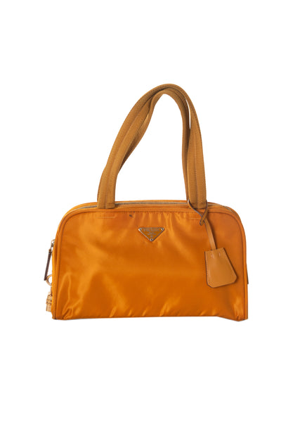 Prada Orange Bowling Bag - irvrsbl