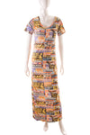 Hysteric GlamourPrinted Maxi Dress- irvrsbl