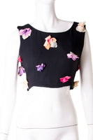 Dolce and Gabbana Floral Crop Top - irvrsbl