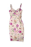 Christian DiorFloral Silk Dress- irvrsbl