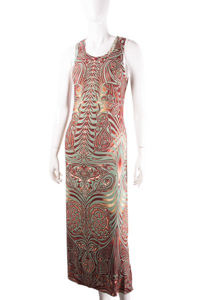 Jean Paul GaultierTattoo Print Dress- irvrsbl