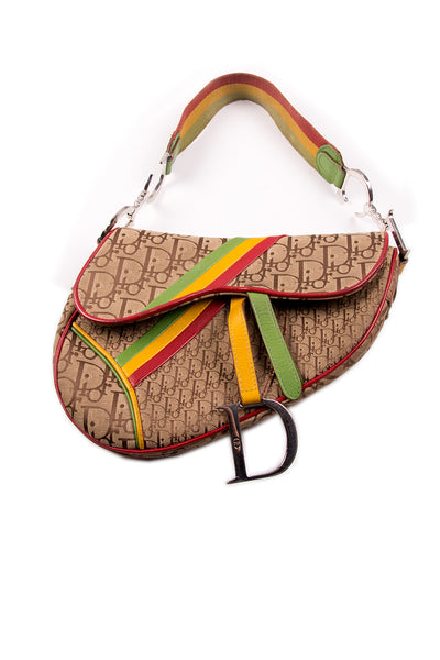 Iconic Rasta Saddle Bag