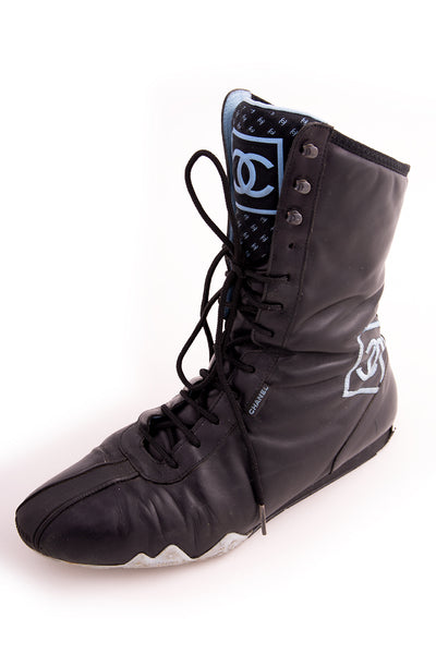 Chanel2003 Boxing Boots - irvrsbl