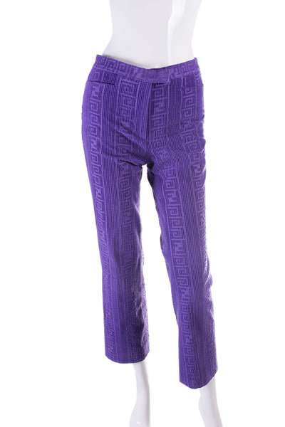 FendiZucca Purple Pants- irvrsbl