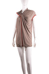 Draped Knotted Dress