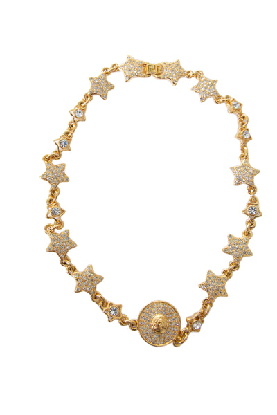 Versace Star and Medusa Necklace - irvrsbl
