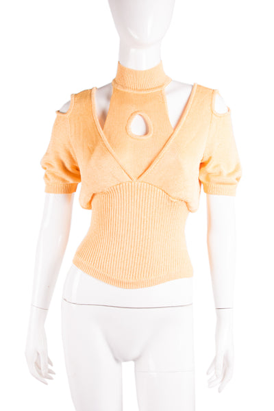 Thierry Mugler Cutout Top - irvrsbl