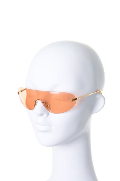 Rimless Shield Sunglasses