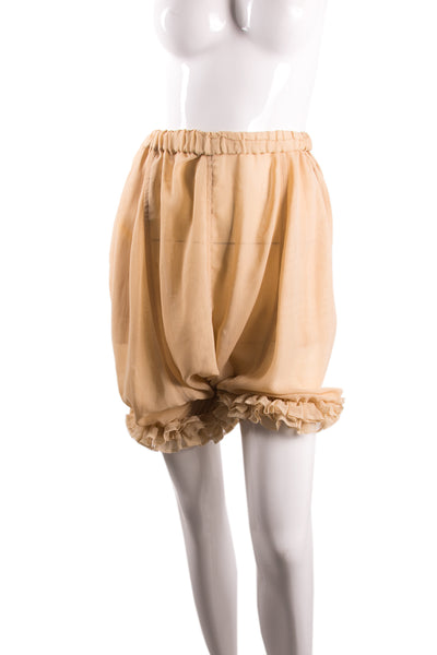 Comme Des GarconsRuffle Bloomers- irvrsbl