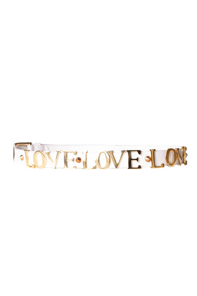 Dolce and Gabbana 'Love' Belt - irvrsbl