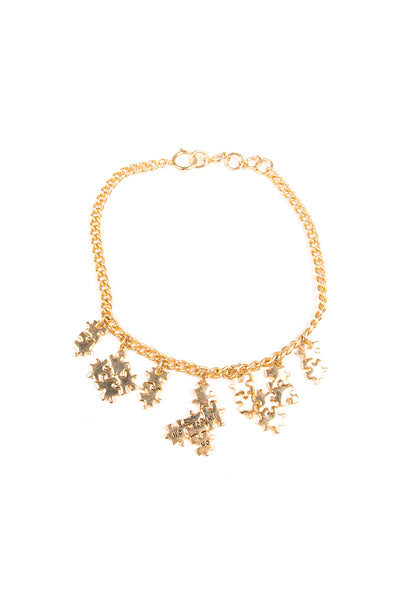MoschinoPuzzle Piece Necklace- irvrsbl