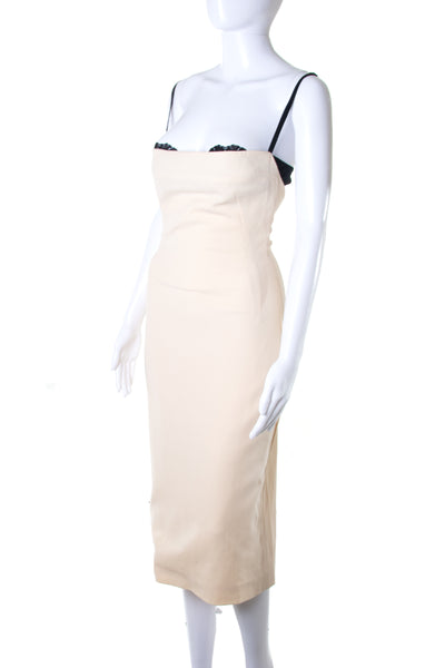 Dolce and Gabbana Cream Pencil Dress - irvrsbl