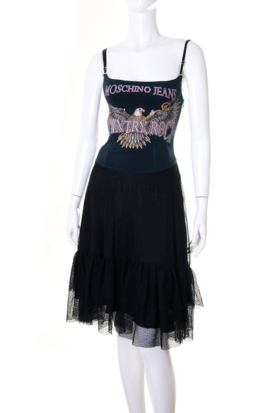 Moschino 'Country Rock' Corset Dress - irvrsbl