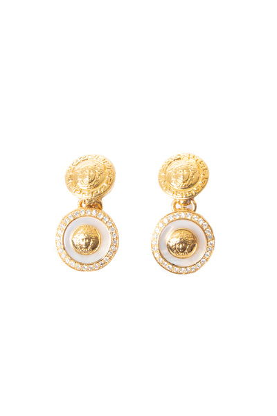 VersaceMedusa Earrings- irvrsbl