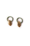 MoschinoLeaf Clip On Earrings- irvrsbl