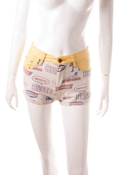Hysteric GlamourPinup Print Shorts- irvrsbl