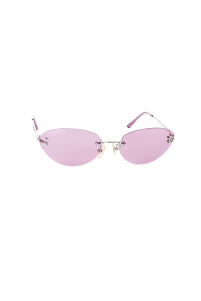 Chanelc. 124/76 CC Sunglasses- irvrsbl