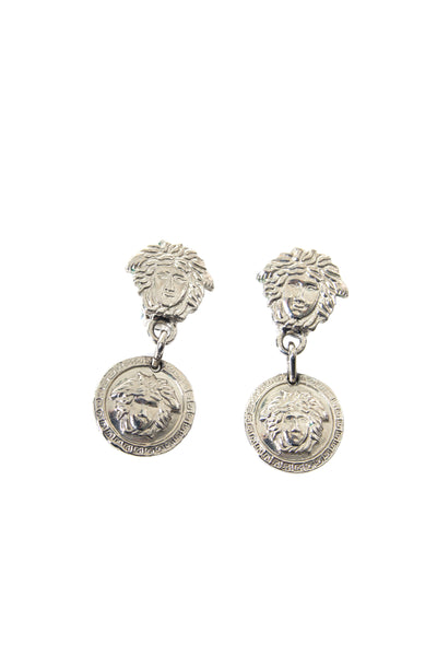 Medusa Head Clip On Earrings