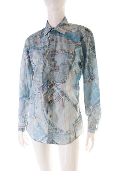 2015/2016 Denim Printed Shirt
