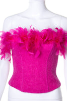 Feather Bustier