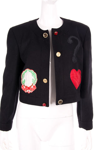 Cheap and Chic Applique Jacket