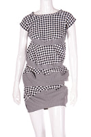 Comme Des Garcons Houndstooth Dress - irvrsbl