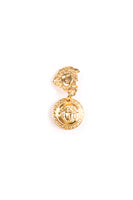 Versace Medusa Head Clip on Earrings - irvrsbl