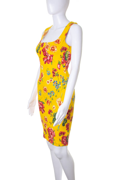 Dolce and GabbanaBoned Floral Dress- irvrsbl