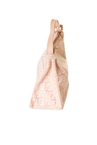 Micro Zucca Bag in Pink
