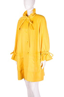 Yellow Trapeze Coat